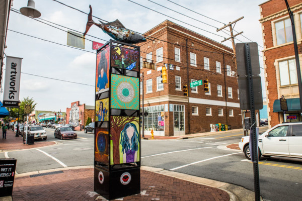 A City's Canvas: Profiles of the Artists of Downtown Winston-Salem