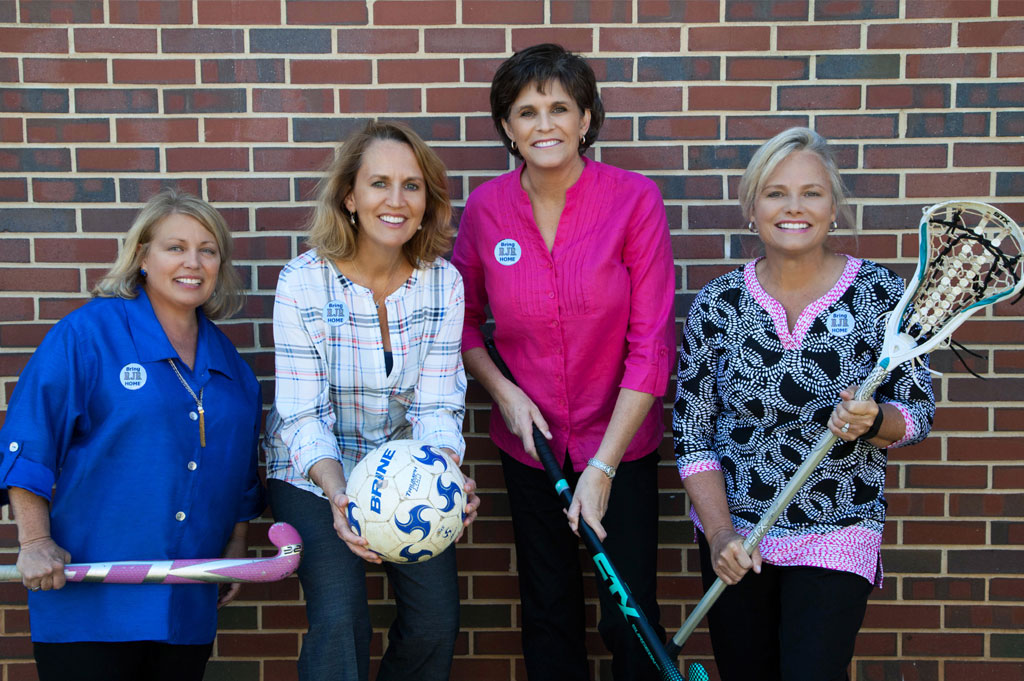 "Closer to Goal…The Women Behind Reynolds High School's ""Home Field Advantage"" Campaign"