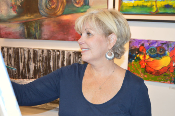 A City's Canvas: Profiles of the Artists of Downtown Winston Salem:  Susan Walker