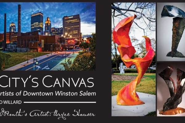 A City's Canvas: The Artists of Downtown Winston:  JR Rim