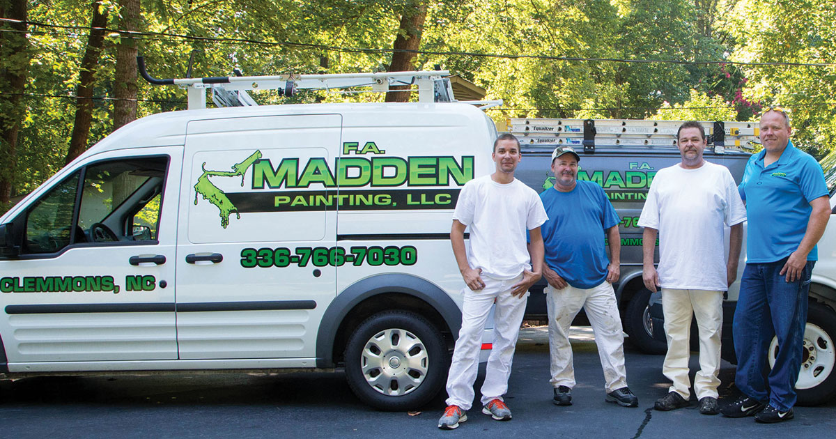 F.A Madden Painting, LLC — Residential & Commercial Painting