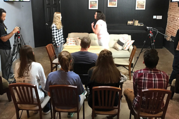 Forsyth Teens by Teens:  Beyond the Door: A Walk Through Method Acting