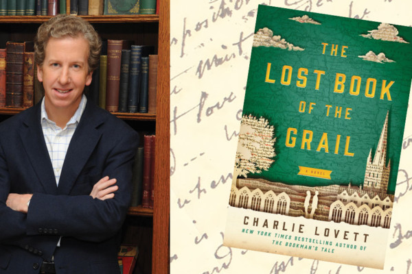 A Novel Idea -- Charlie Lovett:  The Lost Book of the Grail
