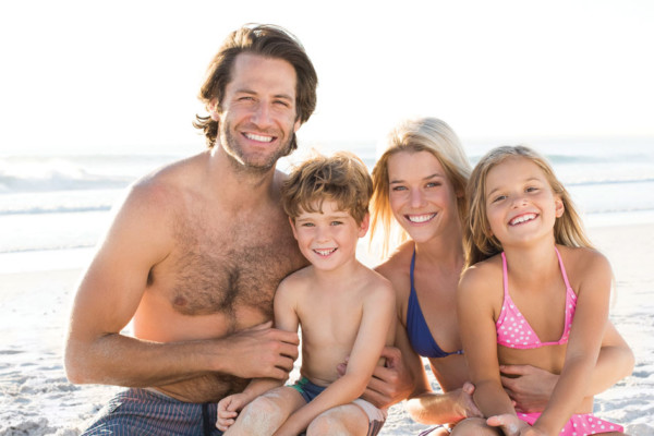 Crazy Perfect Life: My Family Beach Trip