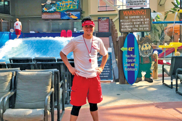 A Day in the Life of… A Waterpark Lifeguard