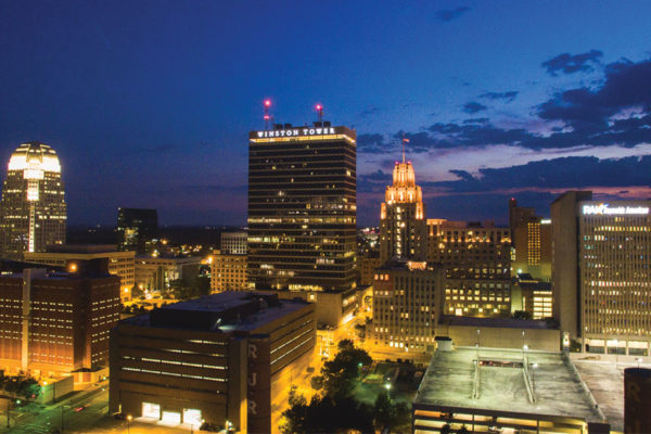 A Look into Downtown Winston-Salem: The Present