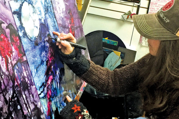 Camel City Creates: Artist Tammy Willard Paints Social Justice and Light