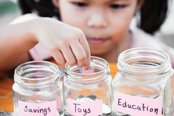 April is National Credit Union Youth Month.  It's never too early to teach children the importance of smart money habits.