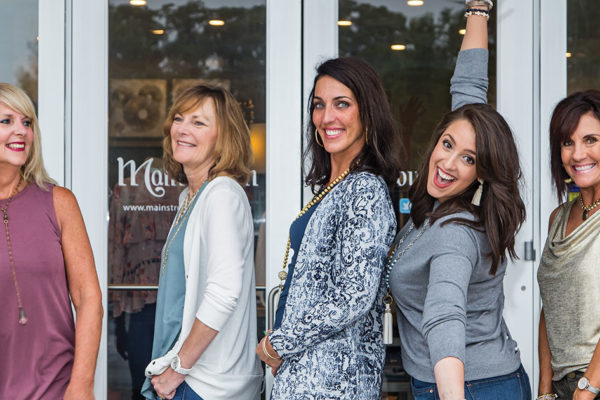 Shop, Sip, and Savor!  Celebrate Mainstream Boutique's 6th Birthday Party September 20 – 22!