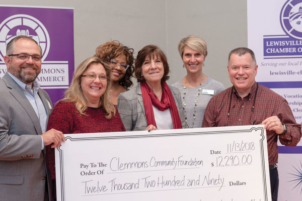 Announcing a New Scholarship Award  From the Lewisville-Clemmons Chamber of Commerce