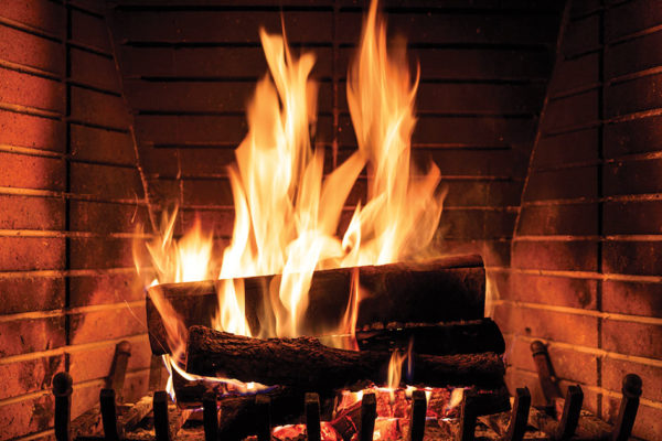 Love of the Fireplace: Omens and Blessing