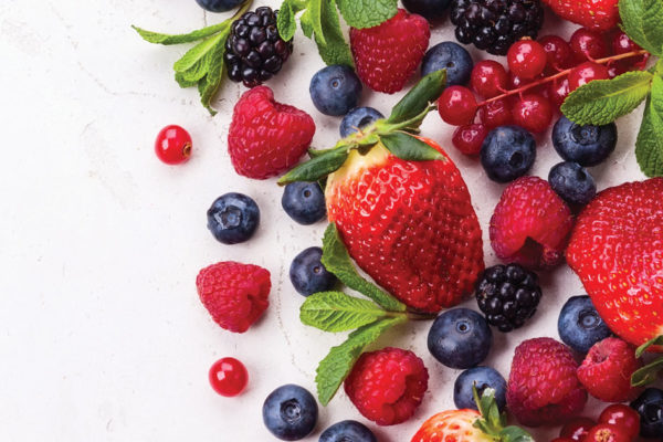 Bowl Full of Berry-licious Berries Boasts Bountiful Benefits!