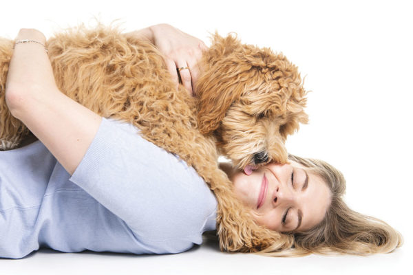 The Calming Powers of (Wo)Man's Best Friend
