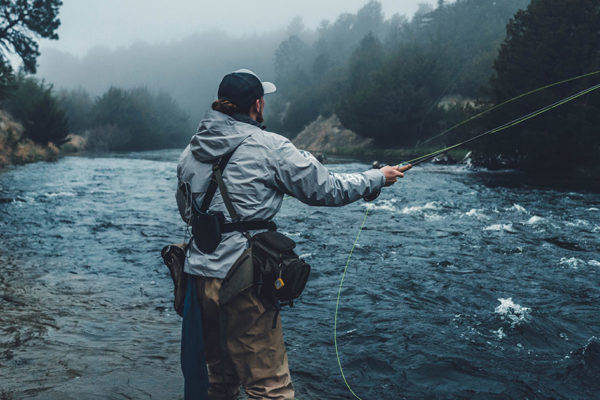 Fly Fishing Helps Veterans Overcome Traumatization