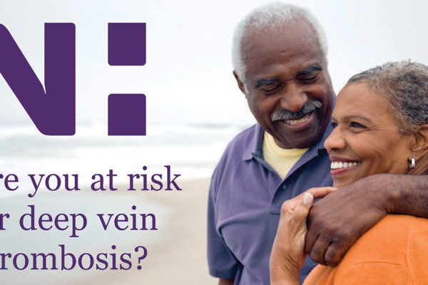 Novant Health: Are you at risk for deep vein thrombosis?