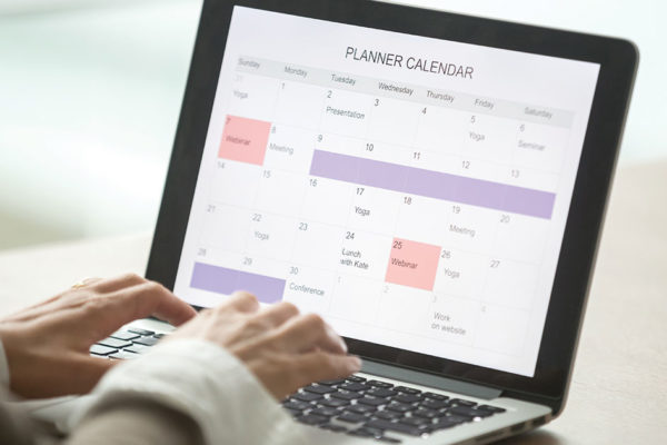 Mastering Productivity by Creating a Weekly Schedule